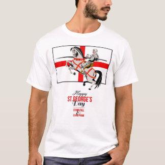 Camiseta Dia feliz orgulhoso P retro de St George do