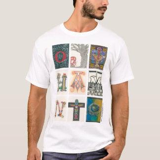 Camiseta Dia iluminado das letras da doação