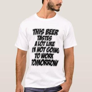 Camiseta Dia livre da cerveja
