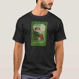 Camiseta Dia romance de Ireland St Patrick irlandês do