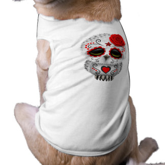 Camiseta Dia vermelho da coruja inoperante do bebê