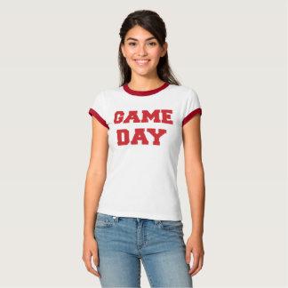 Camiseta Dia vermelho do jogo