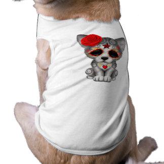 Camiseta Dia vermelho do lobo Cub inoperante