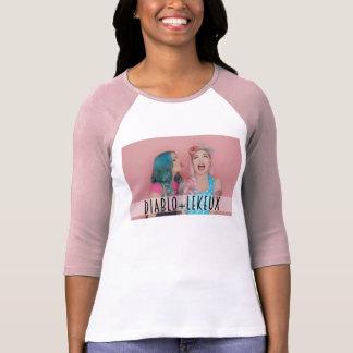 Camiseta Diablo e T de Le Keux Raglan