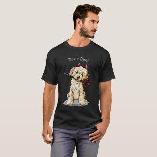 Camiseta Diabo do Doodle de KiniArt
