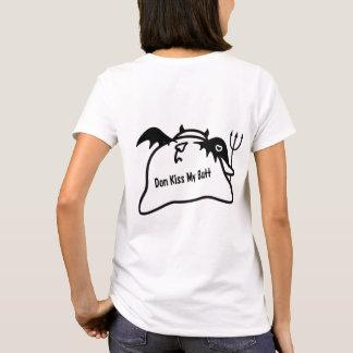 Camiseta Diabo tímido bonito no AMOR