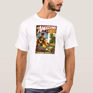 Camiseta Diabrete atrás do vidro