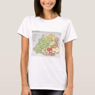 Camiseta Diagrama da Cidade do Vaticano de Vatikanstadt do