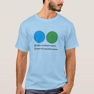 Camiseta Diagrama do Ven das calças