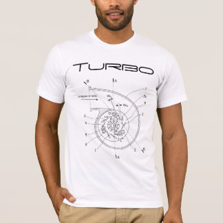 Camiseta Diagrama esquemático de Turbo