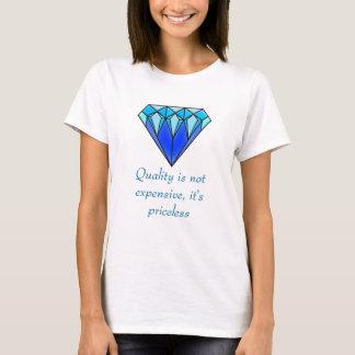 Camiseta Diamante azul