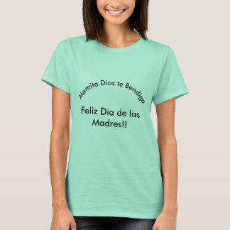 Camiseta Diâmetro de las Madres
