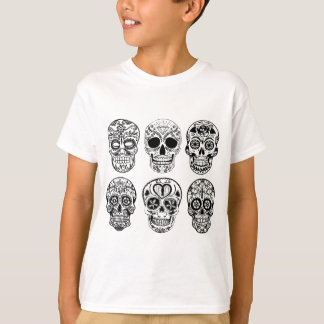 Camiseta Diâmetro de los Muertos Crânio (dia do morto)