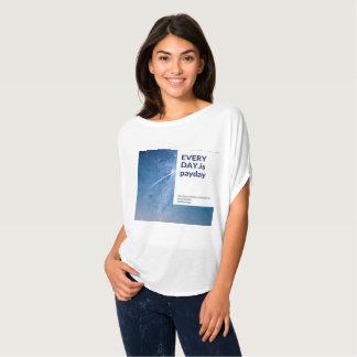 Camiseta Diário é o dia de pagamento