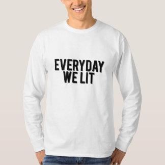Camiseta Diário nós luva longa do Lit