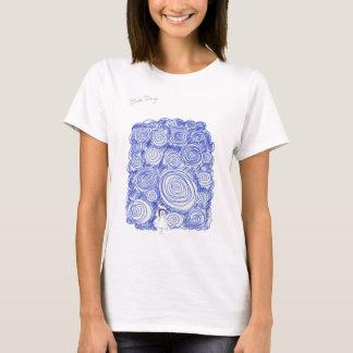 Camiseta Dias azuis