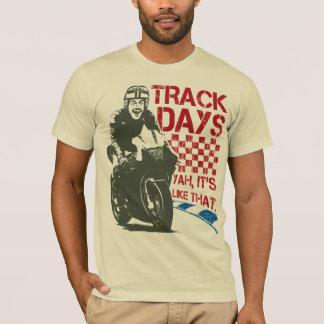 Camiseta Dias da trilha - é como aquele