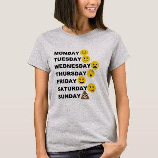 Camiseta Dias de Emoji