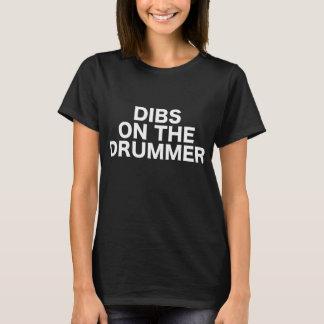 Camiseta Dibs na música da mostra da actuação do concerto