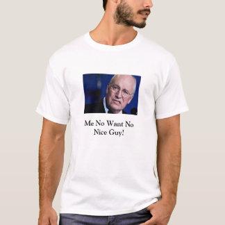 Camiseta Dick Cheney não é nenhum t-shirt agradável da cara