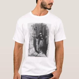 Camiseta Dickens que coloca seu primeiro literário