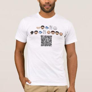 Camiseta DiddleSkis - crivo do Emoticon (ensine um homem