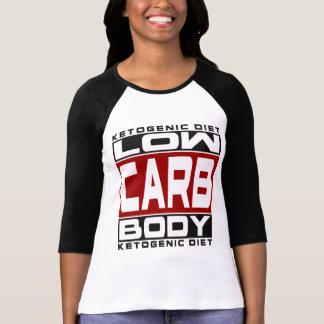 Camiseta DIETA KETOGENIC: Baixo corpo do carburador! Coma o