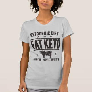 Camiseta DIETA KETOGENIC: Coma o Keto - Coma o baixo