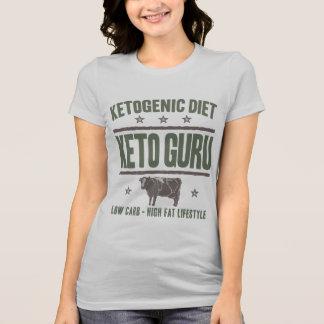 Camiseta DIETA KETOGENIC: Keto Guru alto - vida gorda, vaca