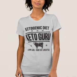 Camiseta DIETA KETOGENIC: Keto Guru - coma o baixo