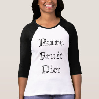 Camiseta Dieta pura da fruta