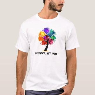 Camiseta Diferente, não menos