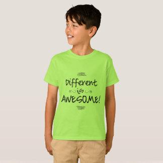 Camiseta Diferente são impressionantes - os miúdos T