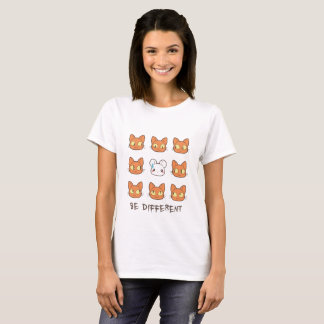 Camiseta Different - n mouse cat '