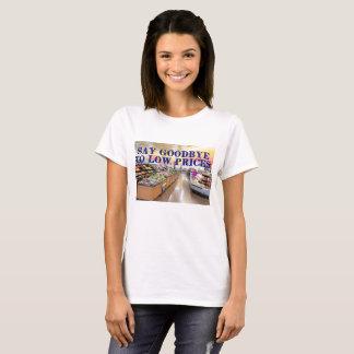 Camiseta Diga Goodbuy aos baixos preços
