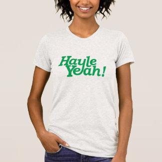 Camiseta Diga Hayle yeah! Se você ama Hayle em Cornualha