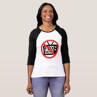 Camiseta Diga não a Fox News