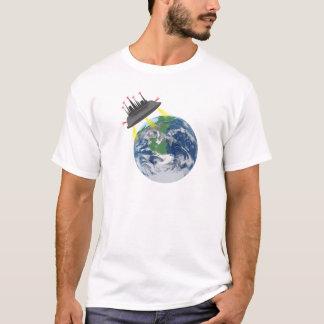 Camiseta Diga não ao t-shirt estrangeiro dos refugiados