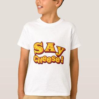 Camiseta diga o queijo!