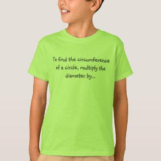 Camiseta Dígitos do Pi