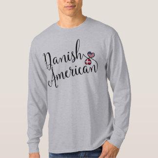 Camiseta dinamarquesa dos corações de Entwinted do