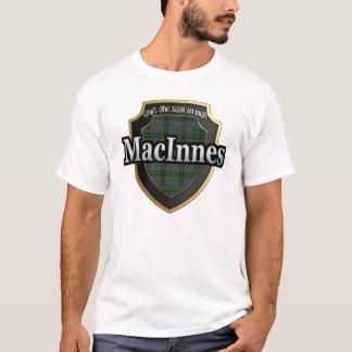 Camiseta Dinastia do Tartan de MacInnes Scotland do clã