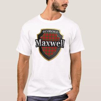 Camiseta Dinastia do Tartan de Maxwell Scotland do clã