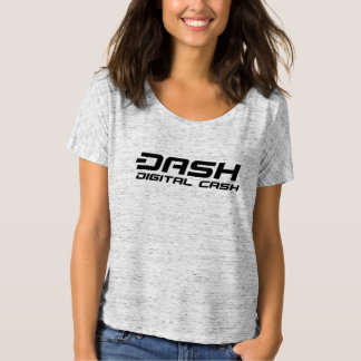 Camiseta Dinheiro de Digitas do t-shirt das mulheres do