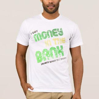 Camiseta Dinheiro no banco