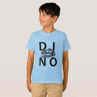 Camiseta DINO - luz - t-shirt do Hanes TAGLESS® dos miúdos