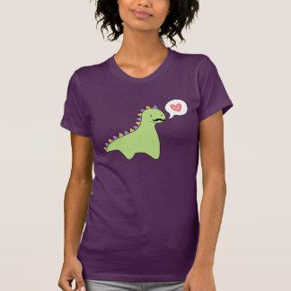 Camiseta Dinossauro bonito do bigode