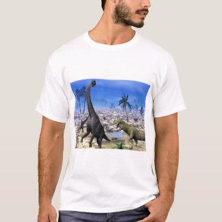 Camiseta Dinossauro de ataque do brachiosaurus do