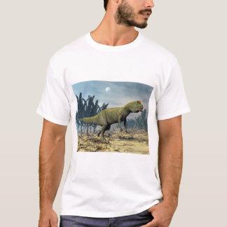 Camiseta Dinossauro do Allosaurus - 3D rendem