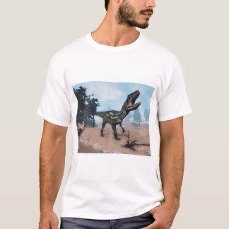 Camiseta Dinossauro do Allosaurus que ruje - 3D rendem